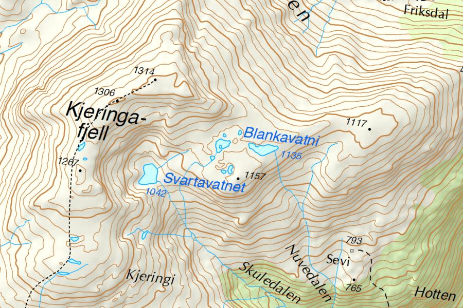 sevi-kjeringafjell