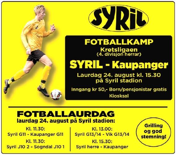 syril fotballdag